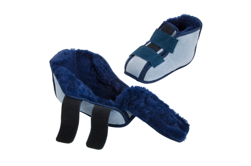 Sheepskin Shear Comfort Short Slipper Boot Small - Think Mobility