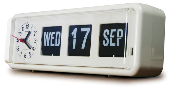 Calendar Clock  Jadco Time Analogue Freestanding (Gst) [Bq38]