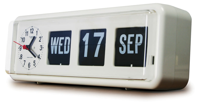 Calendar Clock  Jadco Time Analogue Freestanding (Gst) [Bq38] - Think Mobility