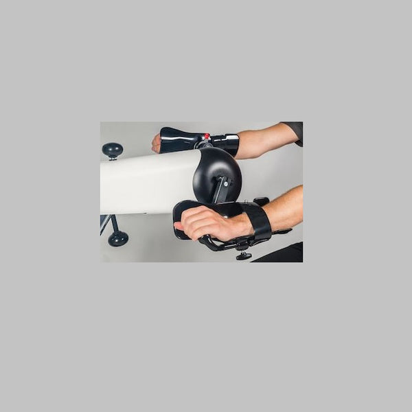 Plastic Coated Forearm Shells With Disinfecatble Straps With Quick Release (P) [Mo 356.200] - Think Mobility