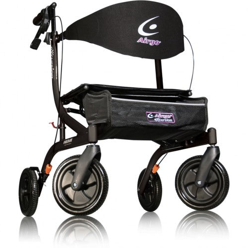 Airgo Excursion Rollator Hemi Height - Black Pearl [700-926] - Think Mobility