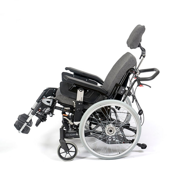 Breezy Cirrus G5 Tilt In Space Manual Wheelchair - Width 42Cm Depth 39-55Cm [3500042] - Think Mobility