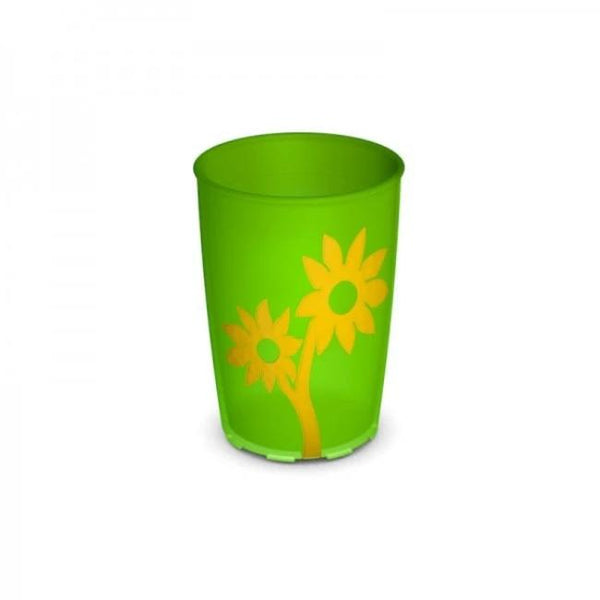 Ornamin Non Slip Cup Flower Green/yellow [8709]