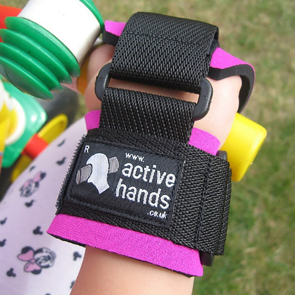 Active Hands Mini Left Pink [Ah Mini L Pink] - Think Mobility