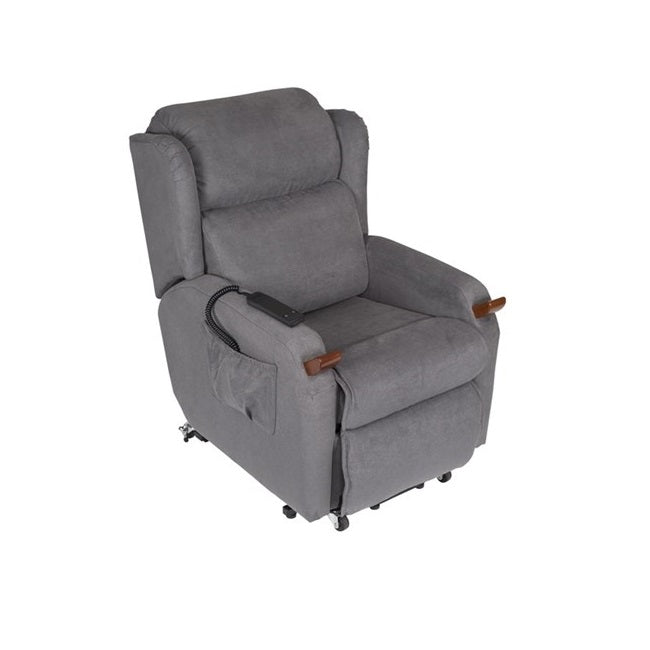 Lift Chair Air Comfort Compact Single Motor Large Macrosuede [Ac59025] - Think Mobility