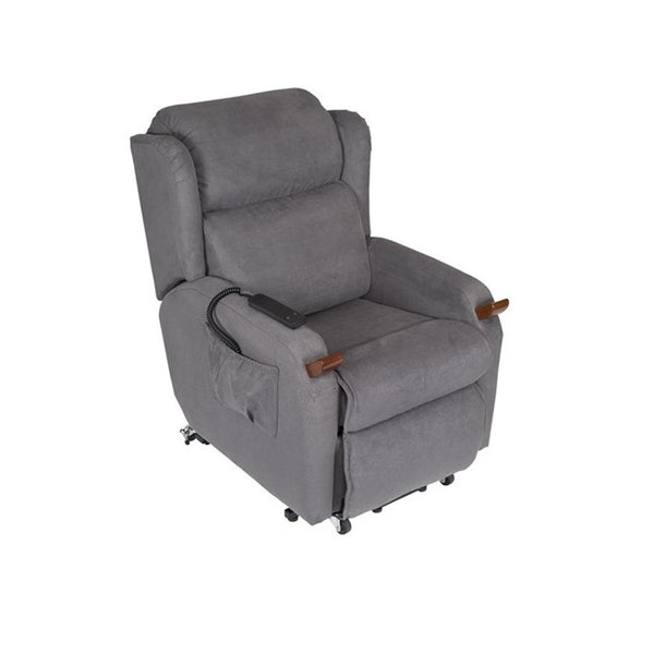 Lift Chair Air Comfort Compact Dual Motor Medium Macrosuede [Ac59061] - Think Mobility