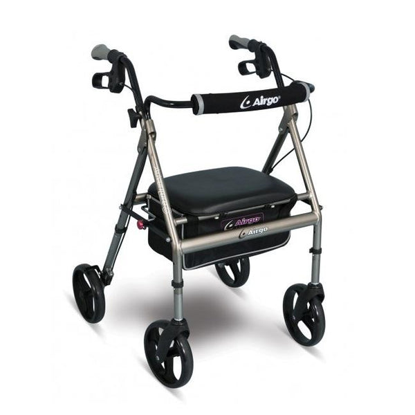 Airgo Adventure-Eight Rollator- Titanium [700-942] - Think Mobility