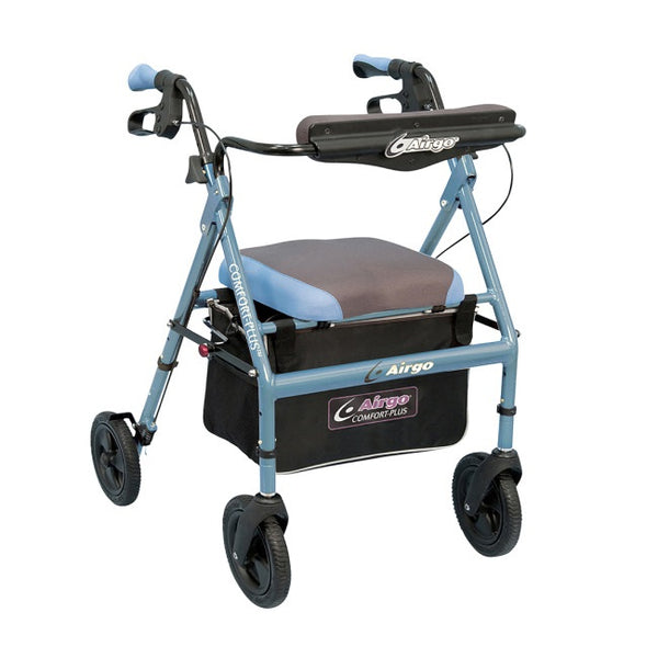 Airgo Comfort-Plus Rollator- Iridescent Blue [700-946] - Think Mobility
