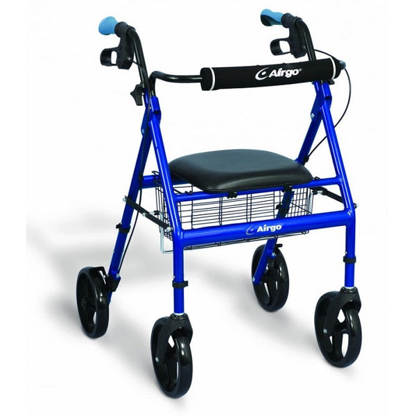 Airgo Basic Rollator - Pacific Blue [700-940] - Think Mobility