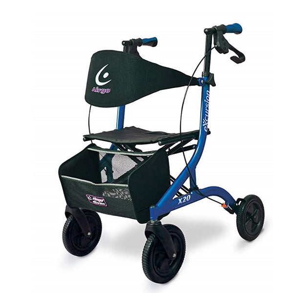 Airgo Excursion Rollator - Pacific Blue [700-921] - Think Mobility