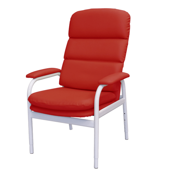 Bc2 High Back Day Chair Vinyl Red [130023] - Think Mobility