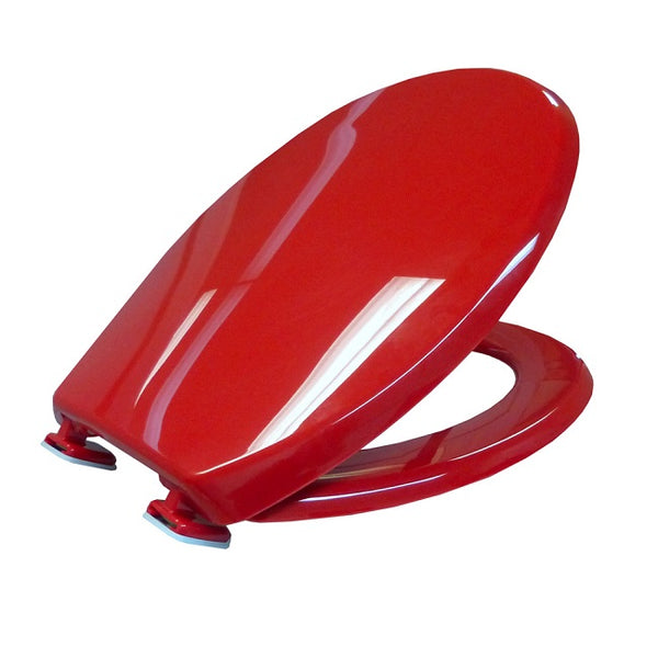 Bemis Coloured Toilet Seat Red [Ts108052153] - Think Mobility