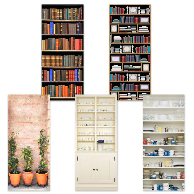 Betterliving Door Mural Bookshelf [Bl0040B] - Think Mobility