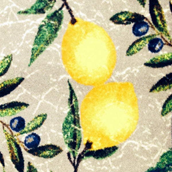 Indoor Rubber Backed Mat Citrus