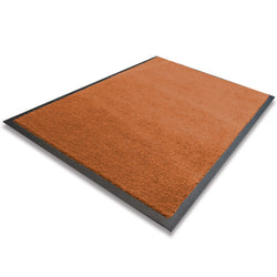 Indoor Rubber Backed Runner - Solid - 600 X 1800 Mm, Novis, Brown [Rm-60180-Br] - Think Mobility