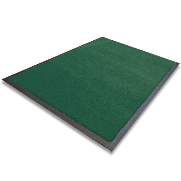 Indoor Rubber Backed Mat - Solid - 600 X 850 Mm, Novis, Heritage Green [Rm-6085-Gn] - Think Mobility