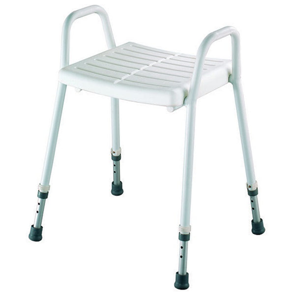 Betterliving Aluminium Shower Stool Clip-On Seat [Bl1140] - Think Mobility
