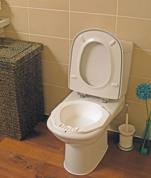 Portable Bidet Homecraft in use