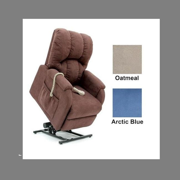 Lift Chair Pride C1 Single Motor Petite Oatmeal Fabric [C1O] - Think Mobility