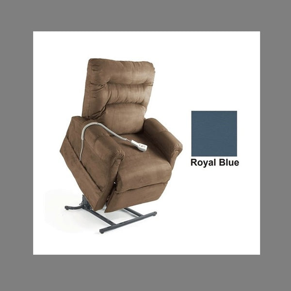 Lift Chair Pride C6 Dual Motor Royal Blue Vinyl [C6Rbv] - Think Mobility