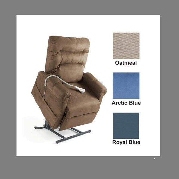 Lift Chair Pride C6 Dual Motor Artic Blue Fabric [C6Ab] - Think Mobility
