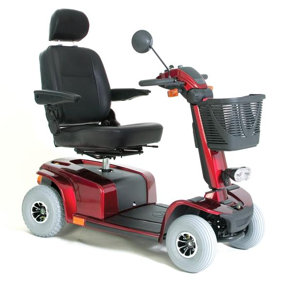 Scooter Celebrity Dx 4 Wheeled Red [Cdx4R] - Think Mobility
