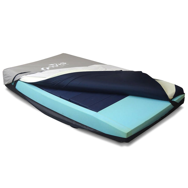 Mattress Novis Cairmax Duo Foam / Air Support Non Powered - King Single [Famcm-R02K] - Think Mobility