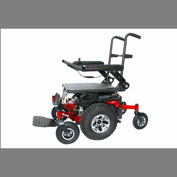 Centro - Xt Extreme Terrain Mid Wheel Powerchair Vertical Lift [C-Vlrb-Xt] - Think Mobility