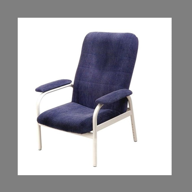 Chair High Back Atama Furniture Bc1 Fabric Denim [Bc1] - Think Mobility