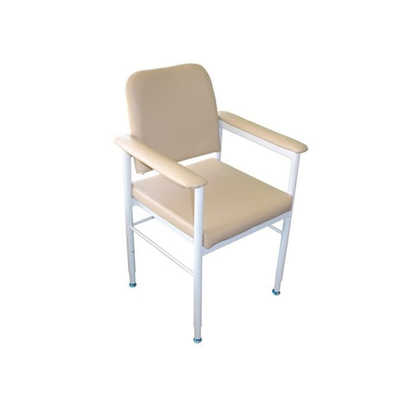 Chair Kingston Aluminium Vinyl Fawn [18005Af] - Think Mobility
