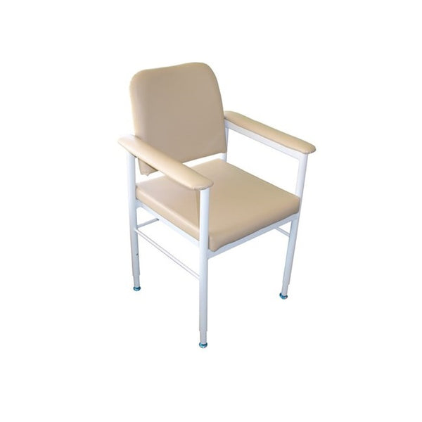 Chair Kingston Aluminium Vinyl Fawn 52Cm [18005Af52] - Think Mobility