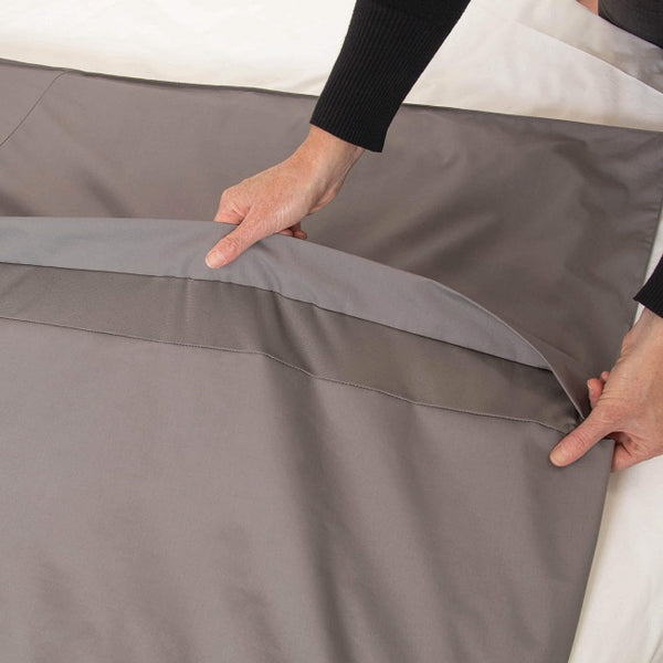 Conni Quilt Cover Waterproof Single Charcoal [Cqc-140210-00-Ch] - Think Mobility