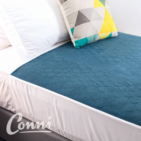 Conni Max Bed Pad Teal Blue [Ccd-100100-25-1Tb ]