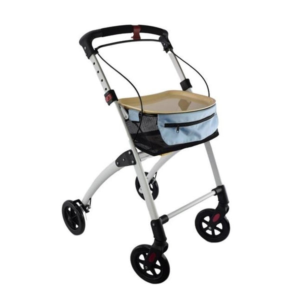 Days Breeze Indoor Rollator White [Pat-091558360] - Think Mobility