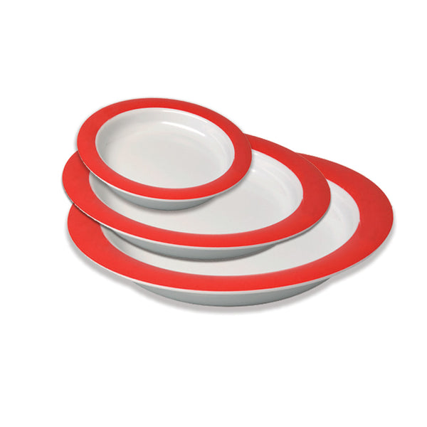 Plate Vital 20Cm Red