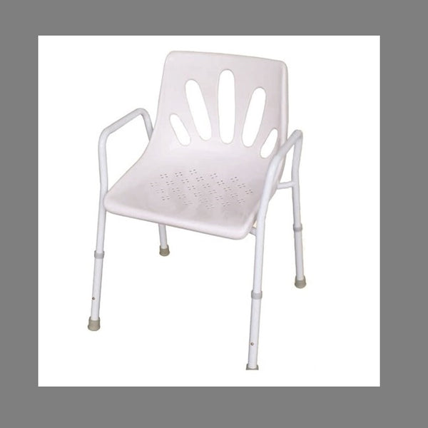 Economy Shower Chair Steel Frame R&r [12028S] - Think Mobility