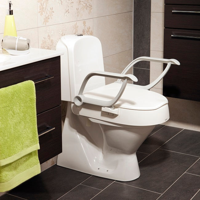 Etac Cloo Toilet Seat Raiser With Arm Supports [80301214] - Think Mobility