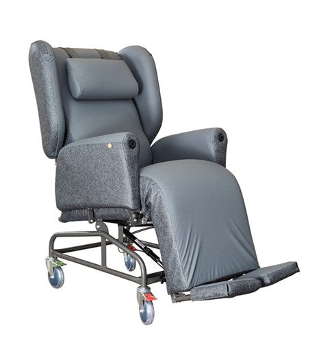 Evolution Supreme Chair Wide Carbon/charcoal R&r [20021] - Think Mobility