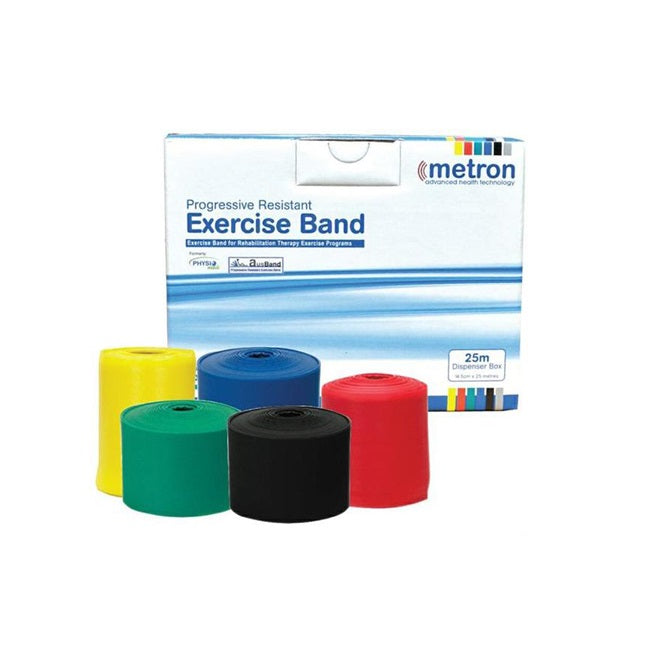 Exercise Band Metron 25M Blue [Tha-Metband25Mblu] - Think Mobility
