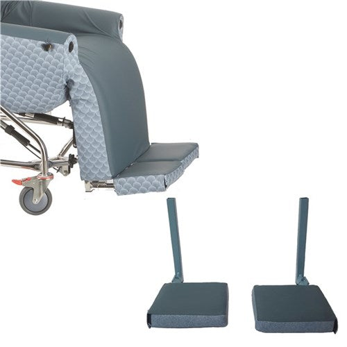 Footplate/ Footrest To Suit Evolution And Evolution Supreme Chair Carbon/charcoal [20002Ch] - Think Mobility