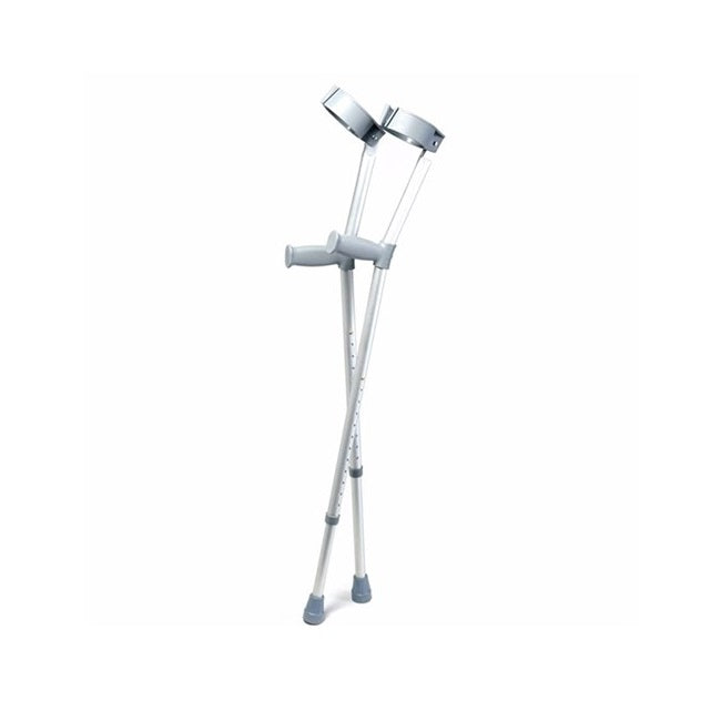 Forearm Crutches Straight Grip Large Days Healthcare [Jan-125At] - Think Mobility