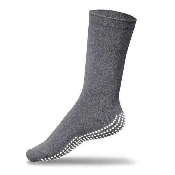 Gripperz Circulation Sock Non Slip Small Grey [C-Gry-Sml]  - Think Mobility