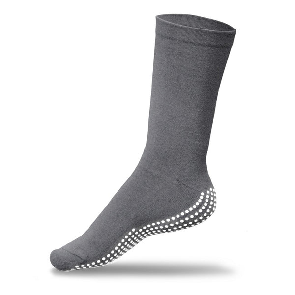 Gripperz Circulation Sock Non Slip Large Grey [C-Gry-Lge] - Think Mobility