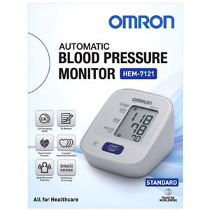 Blood Pressure Monitor Omron [Hem-7121] (Gst) - Think Mobility