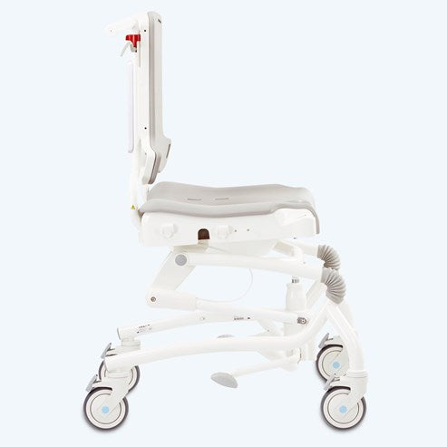 R82 Heron Mobile Shower Chair With Swing Away Armrests [880505-11] - Think Mobility