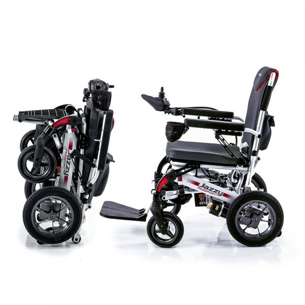 Jazzy Passport Folding Travel Power Chair [Passport] - Think Mobility