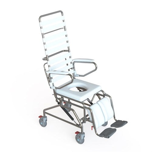 Mobile Shower Commode K-Care Tilt In Space 500Mm Seat [Ka115S50] - Think Mobility