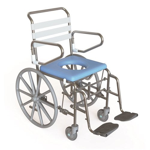 Shower Commode Folding Self Propelled Kcare [Ka130S] - Think Mobility