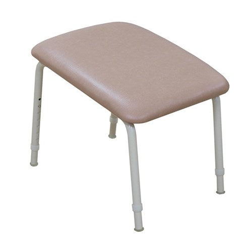 Footstool Padded 125Mm High Vanilla/champagne Kcare [Ka560Lv03] - Think Mobility