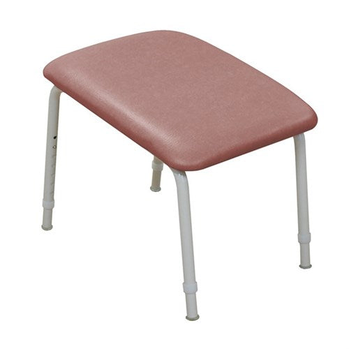 Footstool Padded 200Mm High Vanilla/mulberry Kcare [Ka560Lv04] - Think Mobility